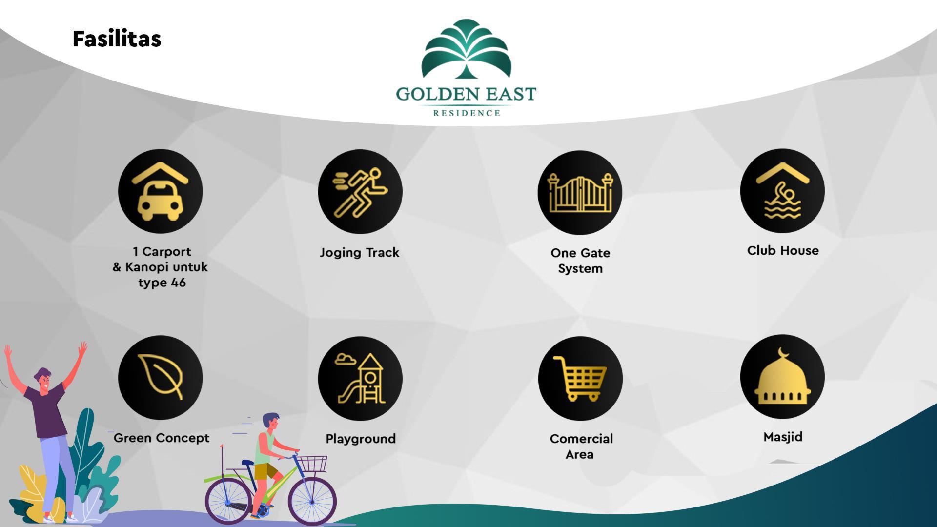 Golden East Residence Fasilitas
