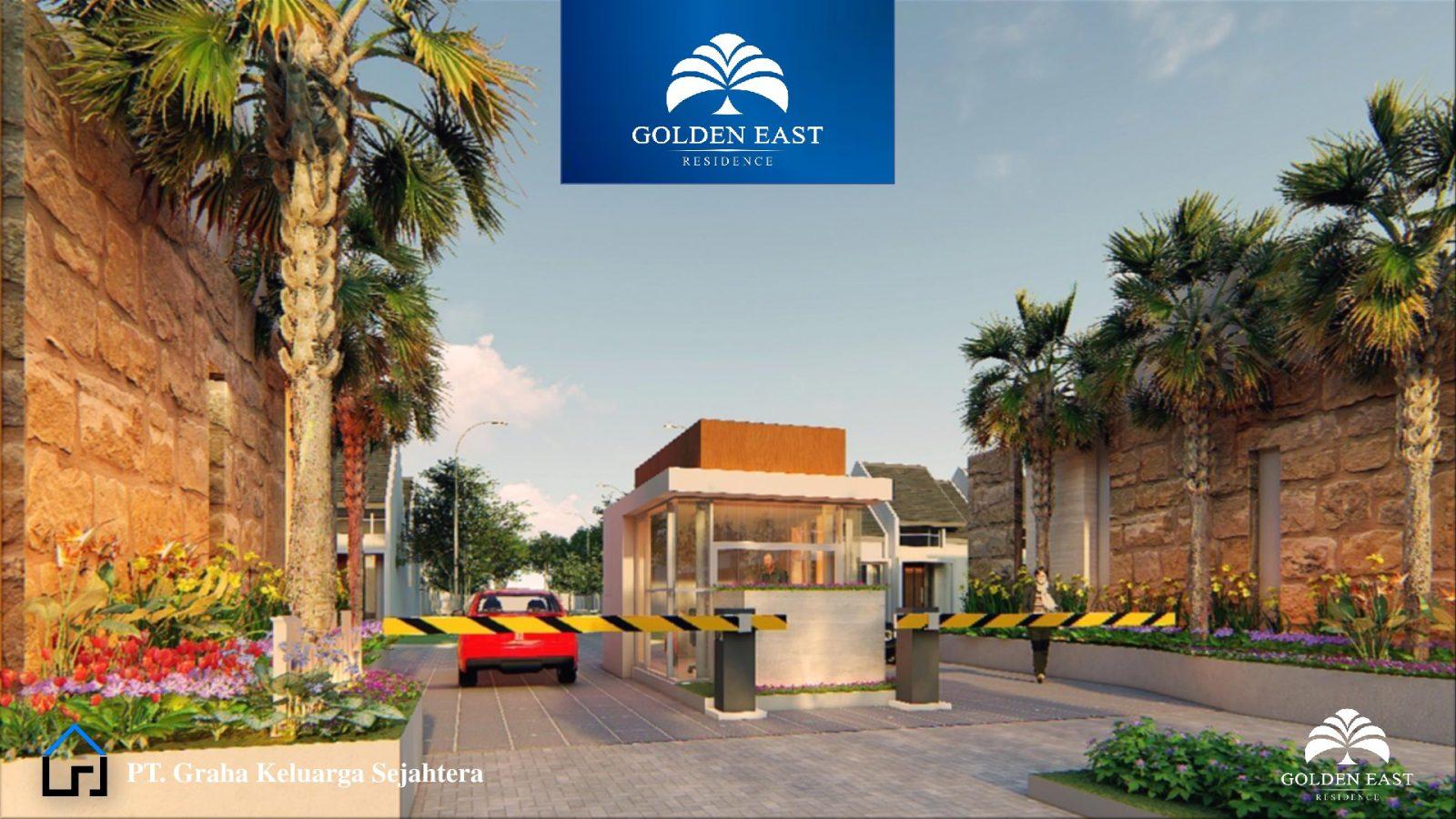 Golden East Residence Menganti Gresik PINTU CLUSTER