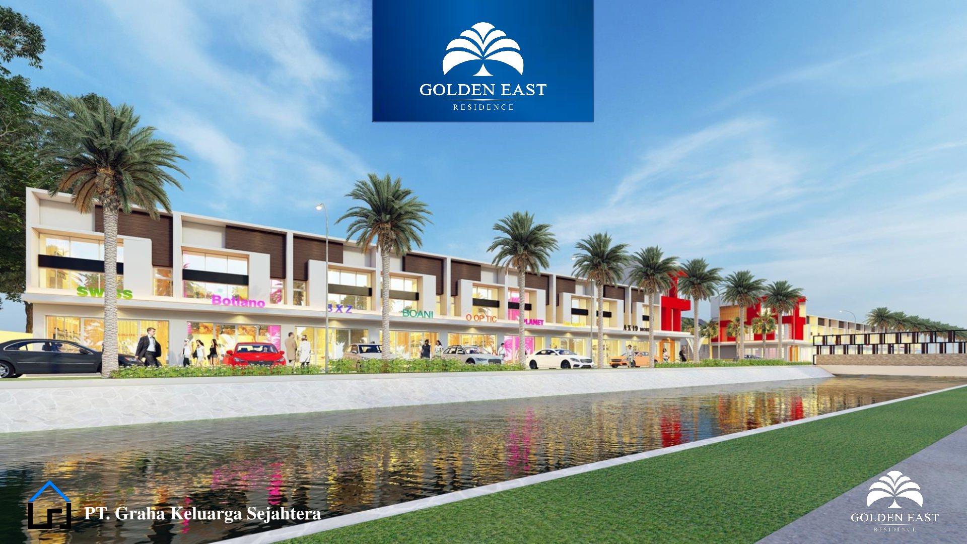 Golden East Residence Menganti Gresik RUKO