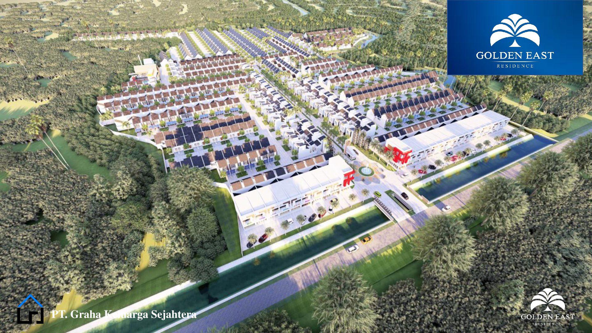 Golden East Residence Menganti Gresik SITEPLAN 3D