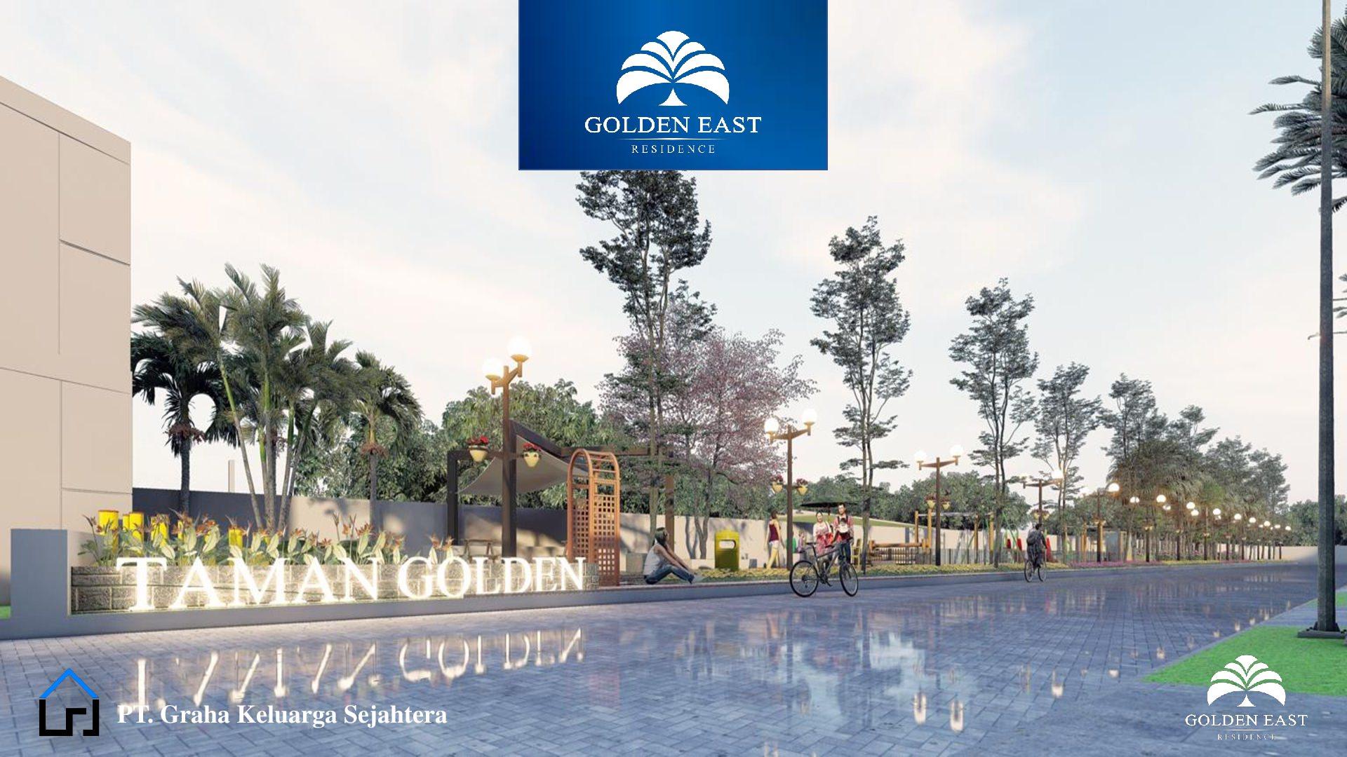 Golden East Residence Menganti Gresik TAMAN GOLDEN
